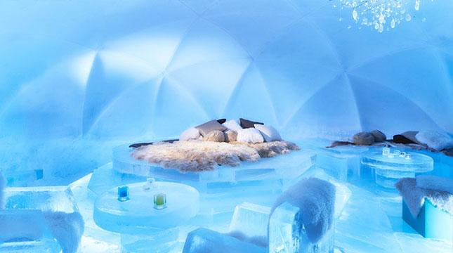 Ice Village di Hoshino Resort Tomamu, Jepang (Foto:snowtomamu.jp)