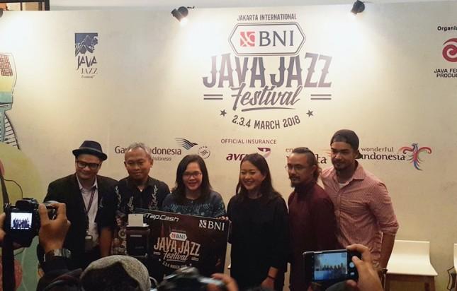 Press Conference Jakarta International BNI Java Jazz 2018, di Kemang, Jakarta Selatan. (Foto/Dina Astria)