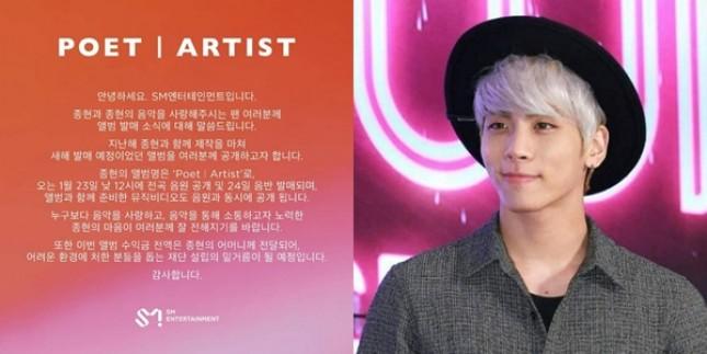 Album Untuk Mendiang Jonghyun SHINee. (Foto: kpopchart)