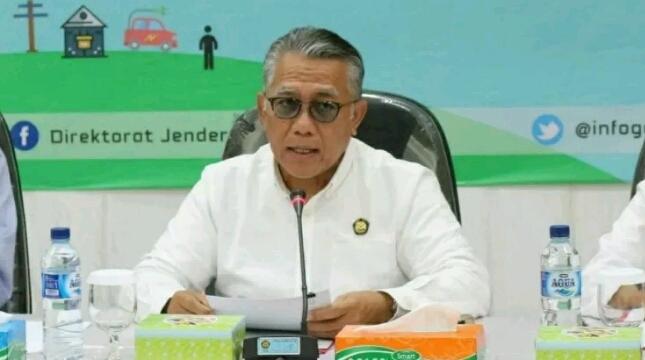 Direktur Jenderal Ketenagalistrikan Kementerian ESDM Andy Noorsaman Sommeng