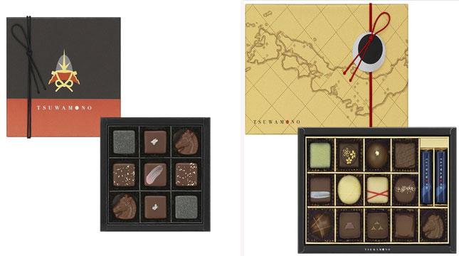 Cokelat Unik Bertema Sejarah di Jepang (Foto:en.rocketnews24.com)