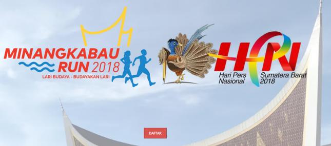 Sambut HPN, Sumbar Gelar Minangkabau Run