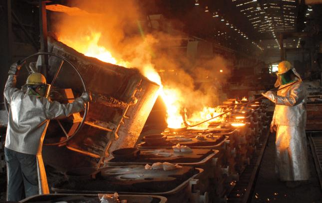 Industri Besi dan Baja (Ist)