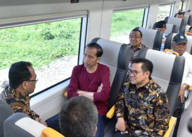 Presiden Jokowi dan Ketum PKB Muhaimin Iskandar (Foto Dok Industry.co.id)