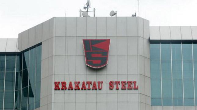 Gedung Krakatau Steel. (Dimas Ardian/Bloomberg/Getty Images)