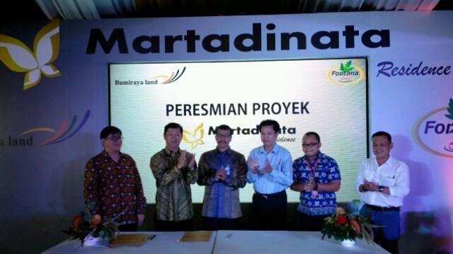Peresmian Proyek Martadinata Residence (Foto: Ridwan/INDUSTRY.co.id)