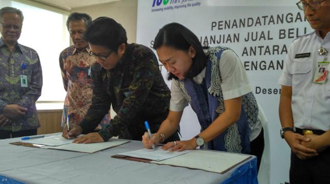 PT MRT Jakarta, Menandantangani Perjanjanjian Jual Beli Tenaga Listrik dengan PLN (Persero)