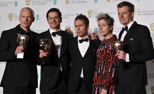 Para Pemenang di British Academy Film Awards atau BAFTA 2018.(Source: NDTV)