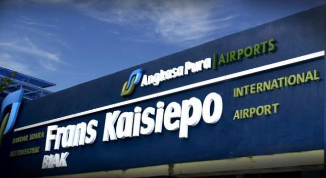 Terminal Bandara Frans Kaisiepo Kabupaten Biak Numfor