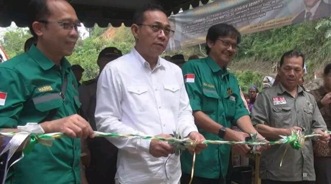 Diejen EBTKE Resmikan PLTH Berkapasitas 53 kW di Tapanuli Selatan