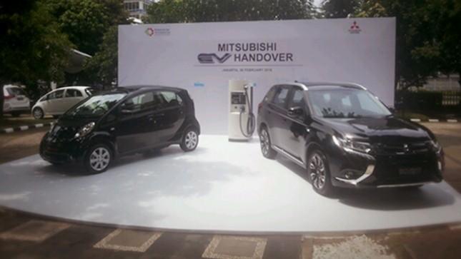 Mobil Listrik Mitsubishi (Foto: Ridwan/INDUSTRY.co.id)