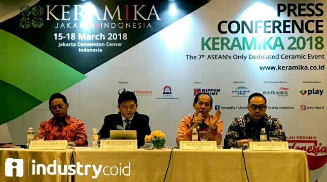 Konferensi pers Keramika 2018