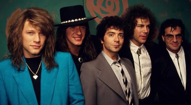 Band rock, Bon Jovi. (Foto: Grammy)