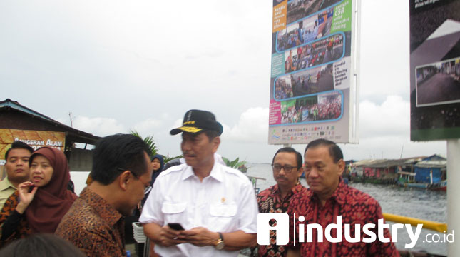 Menteri Koordinator Bidang Kemaritiman Luhut Binsar Pandjaitan (Foto: Kormen Barus/Industry/co.id)