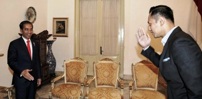 Presiden Jokowi dan AHY (Foto Dok Industry.co.id)