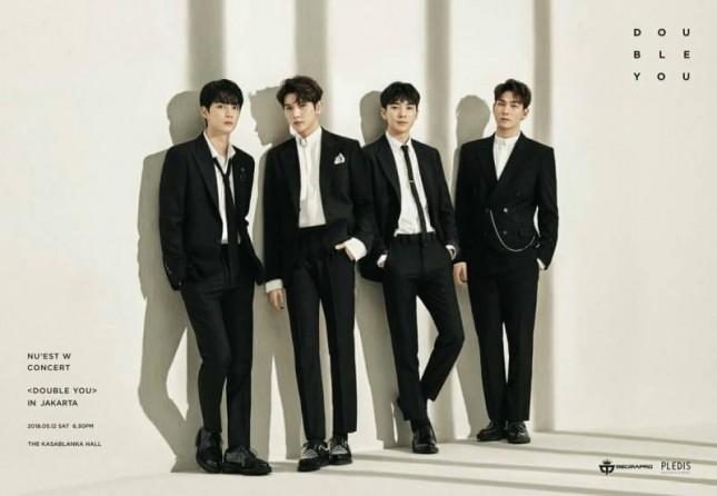 Boyband NU'EST W akan menggelar konser di Jakarta. (Dok. Promotor)