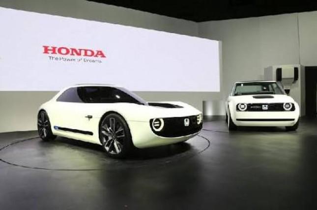 Mobil Listrik Honda Urban EV Concept (Foto: istimewa)
