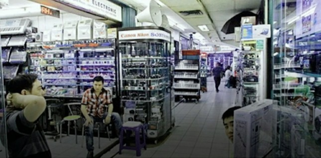 Suasana pasar glodok (foto RMOL)