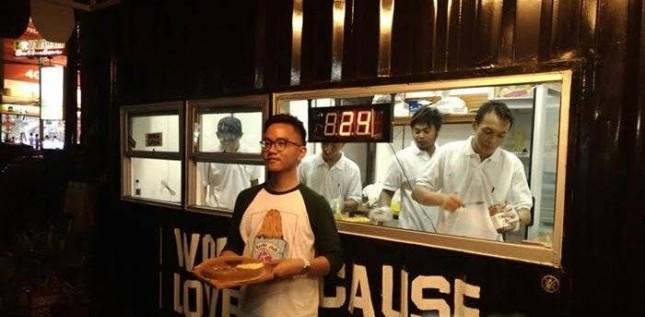 Bisnis kuliner Markobar milik Gibran, putra Presiden Jokowi. (Source: Markobar)