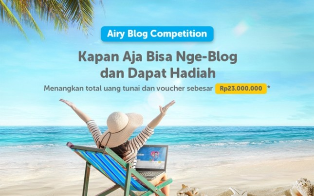 Airy Blog Competition 2018. (Dok Industry.co.id)