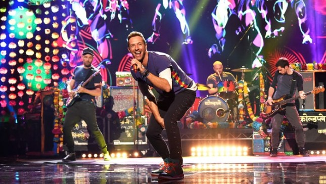 Band Coldplay. (Source: Rollingstone)