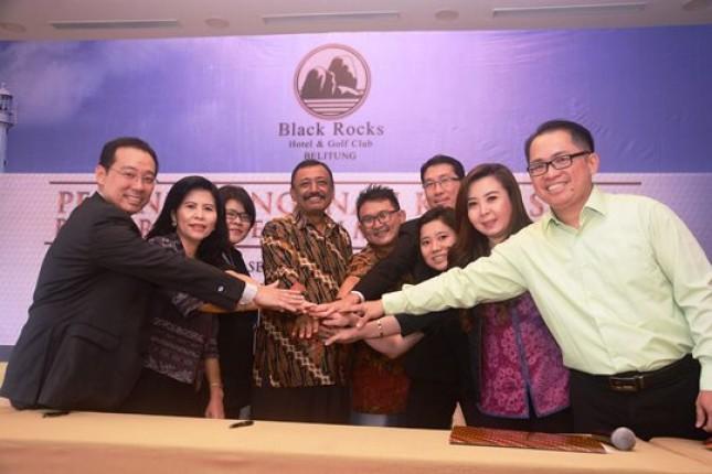 PT Belitung Golf and Resorts Gandeng PROJEK (Foto Dok Industry.co.id)