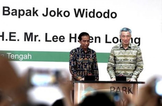Presiden Jokowi dan PM Singapore Resmikan KIK-foto Dok Istana Presiden
