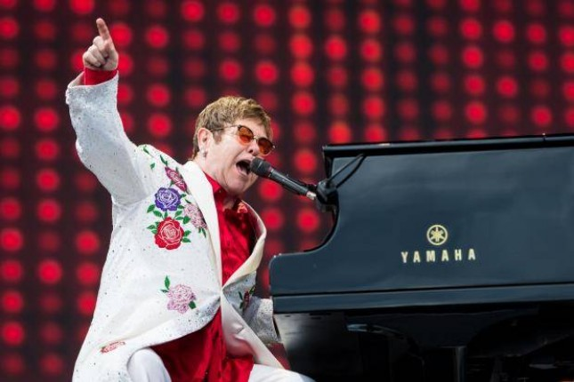 Musisi Elton John. (Source: Independent UK)