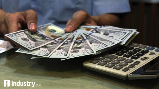 Dolar (Foto/Rizki Meirino)