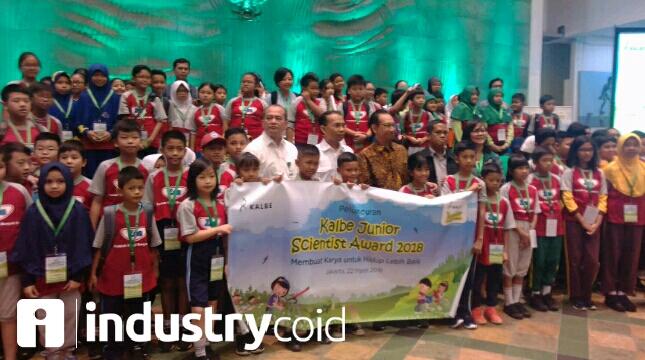Peluncuran lomba sains anak (Hariyanto/INDUSTRY.co.id)