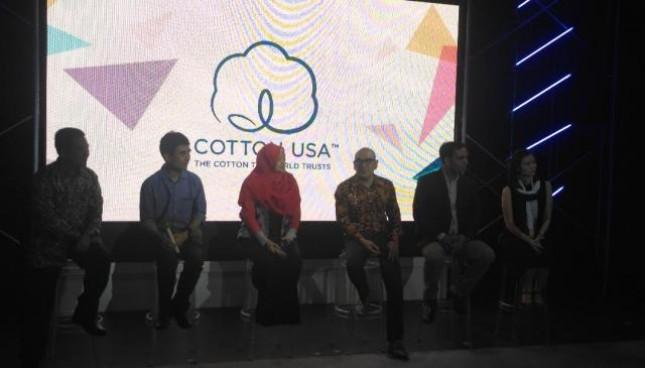 Untuk kedua kalinya, asosiasi perdagangan nirlaba yang mempromosikan serat kapas Amerika Serikat atau Cotton Council International (CCI) mengadakan Cotton USA Networking 2018, Fabric Producers and Local Designers . (Fadli:INDUSTRY.co.id)