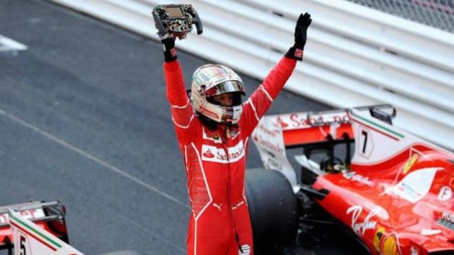 Pebalap Ferrari Sebastian Vettel (Foto Dok Industry.co.id)