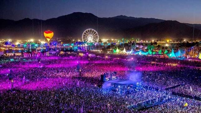 Festival musik Coachella di Amerika Serikat. (Foto: Metropoles)