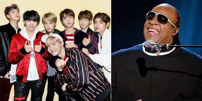 BTS Diminta Stevie Wonder Ikut Project Martin Luther King Jr (Foto Dok Industry.co.id)