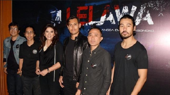 "Para pemain film ""Lelawa"". (Foto: IST)"