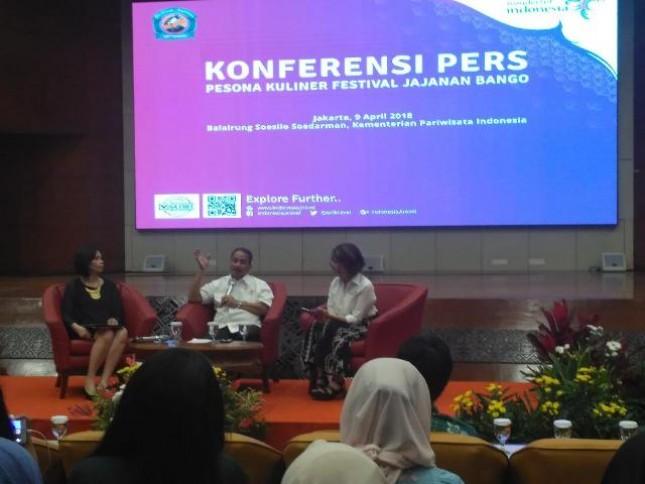 Menteri Pariwisata Arief Yahya Targetkan 17 Juta Wisatawan Mancanegara melalui destinasi kuliner