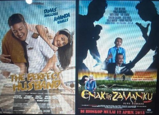 Film Nasional The Perfect Husband dan Film Enak Tho Jamanku yang bertarung berebut penonton