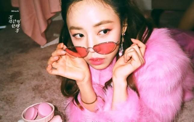 A Pink Namjoo, Tampil Cantik di Teaser Miracle (Foto : Soompi)