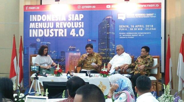Forum diskusi Merdeka Barat