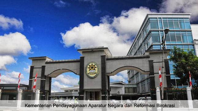 Gedung Kementerian Pendayagunaan Aparatur Negara dan Reformasi Birokrasi (KemenPAN-RB)(setkab.go.id)