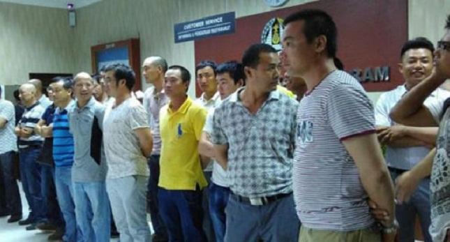 Ilustrasi pekerja ilegal asal China. (Foto: IST)