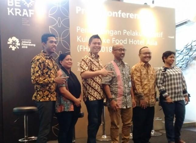 Bekraf Kirim Delegasi, Ikuti Pameran Kuliner Terbesar Asia Tenggara (Foto Anisa)