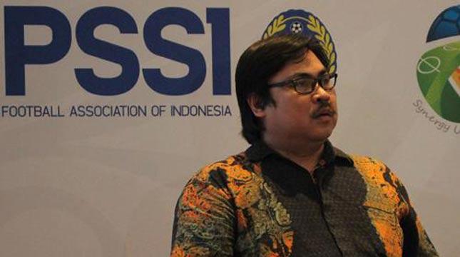 Sekretaris Jenderal PSSI, Ade Welington (bj)