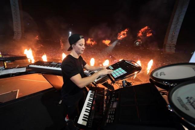 DJ Kygo di panggung Coachella 2018. (Foto: Hotnewhiphop)