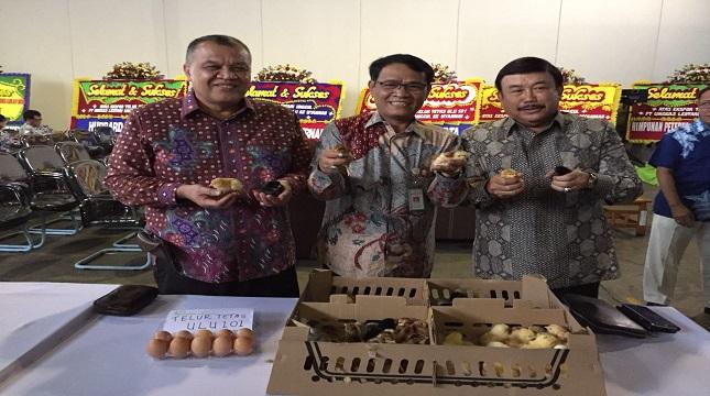 Direktur Jenderal Peternakan dan Kesehatan Hewan (Dirjen PKH) Kementerian Pertanian I Ketut Diarmita lepas telur tetas (Foto: Dok Industry)