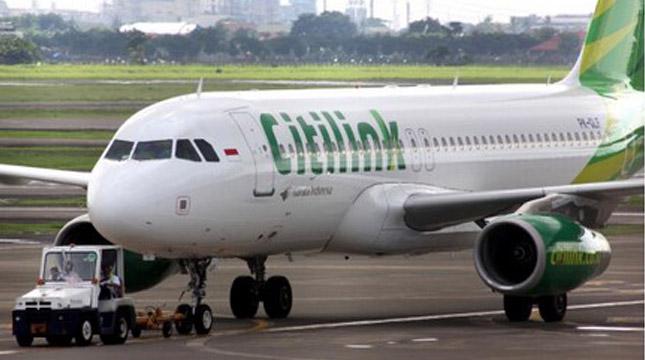 Pesawat Citilink Indonesia (ist)