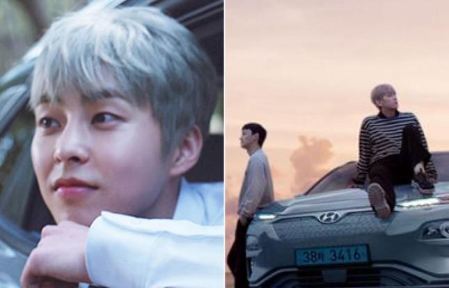EXO-CBX membintangi iklan mobil Hyundai UV KONA Electric. (Source: Soompi)