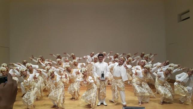 Syukuran kemenangan The Resonanz Children's Choir (TRCC) saat jumpa pers hari Rabu (25/4) di Balai Resital Kertanegara, Jakarta. (Foto: Dina Astria/Industry.co.id)