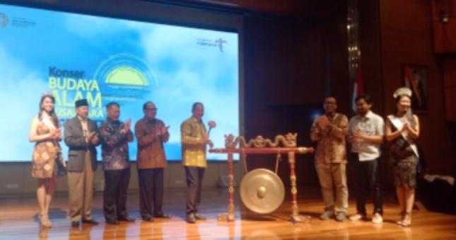 Konser Budaya Alam Nusantara 2018 (Foto: Chodijah Febriyani/Industry.co.id)