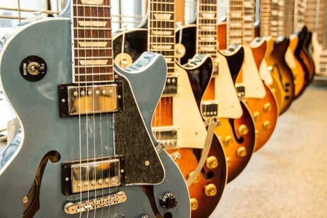 Gitar Gibson menyatakan bangkrut. (Foto: Brooklyn Vegan)